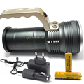 CREE XM-L Q5 Rechargeable Flashlight Torch Lamp miner's lamp spelunking Underground work+2x18650 Battery+Car EU/US/AU/UK Charger
