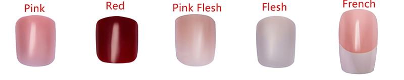 Nail Color options
