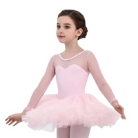 Kids Girls Ballet Tutu Gymnastics Leotard Princess Skirt Tutu Dance Dress 4 15Y