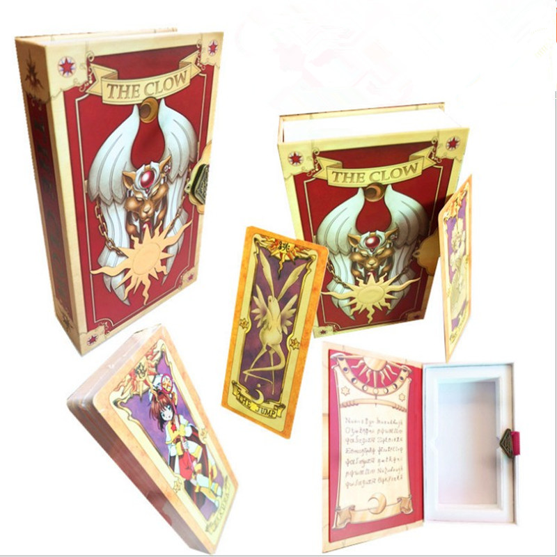 Costume Props Novelty & Special Use Humorous Japanese Anime Card Captor Kinomoto Sakura Tarot Cards Clear Card Cardcaptor Transparent Acrylic Magic Clow Cards Cosplay Props At Any Cost