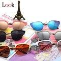 New 2017 cat eye sunglasses mujeres diseñador de la marca de la vendimia al aire libre Gafas de sol De Las Mujeres gafas de sol Lentes De Sol Mujer Uv400 Eyewear gafas