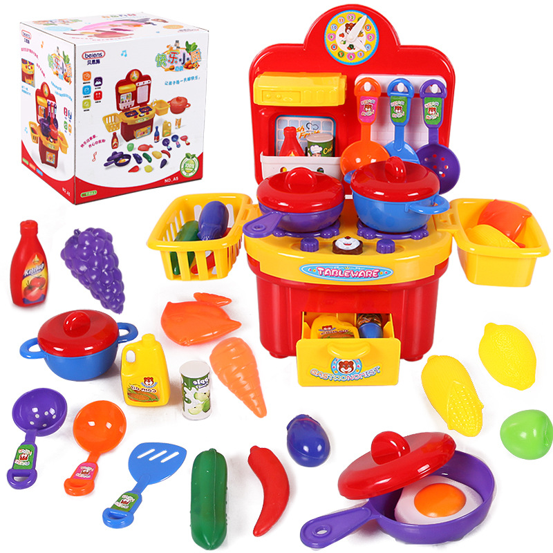 Pretend Play Classic Cooking Toys For Children Pretend