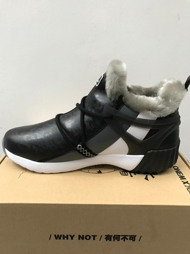 ONEMIX New Winter Men's Boots Warm Wool Sneakers Outdoor Unisex Athletic Sport Shoes Comfortable Running Shoes Sales 20