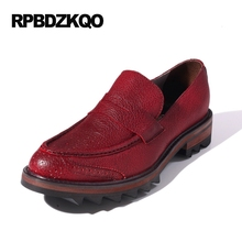 Wingtip Red Brogue Shoes