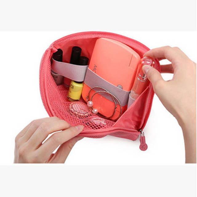 Бесплатная доставка новый 2015 горячих женщин макияж чехол мешок косметичка туалетные принадлежности путешествия ювелирных клатчи