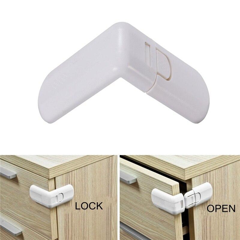 5PCS 10PCS/Lot Baby Child Kids Infant Safety Cabinet Cupboard Door Fridge Wardrobe Drawer Lock
