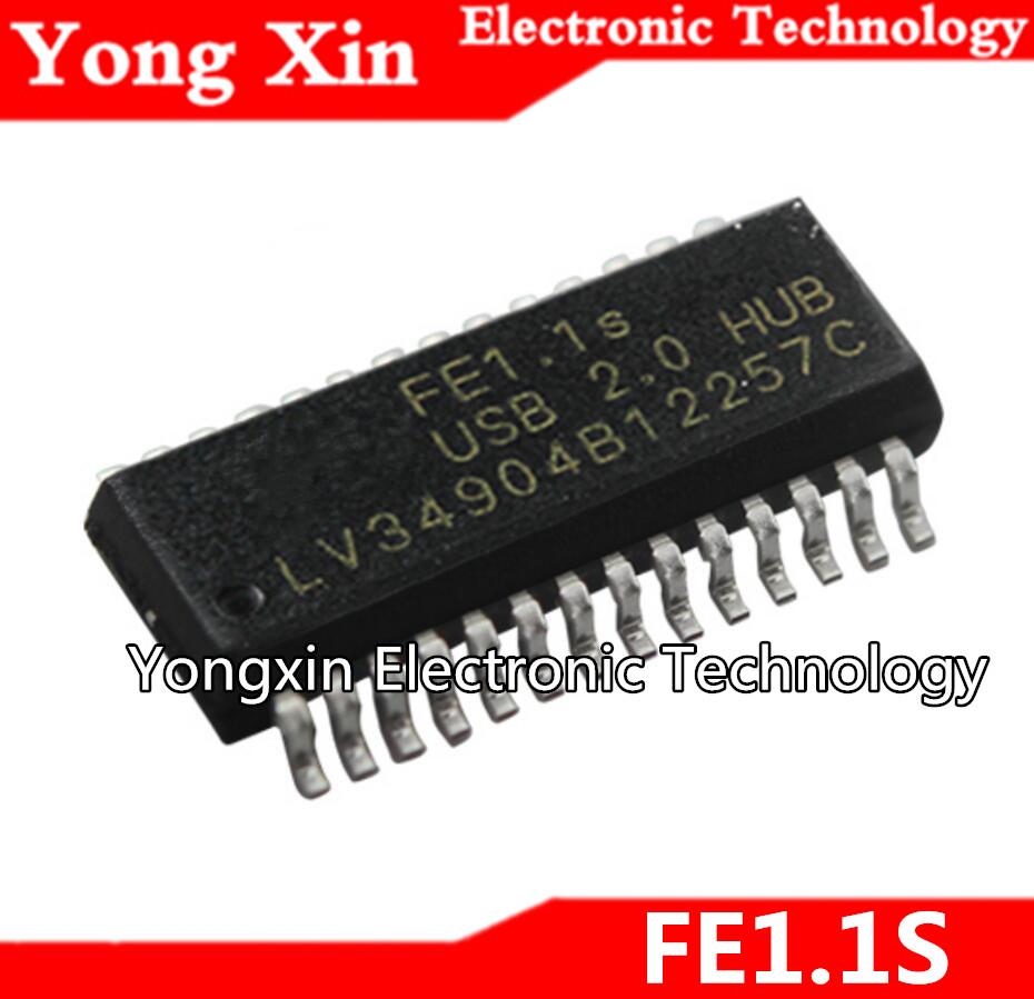 10PCS New FE1.1S USB2.0 HUB SSOP-28