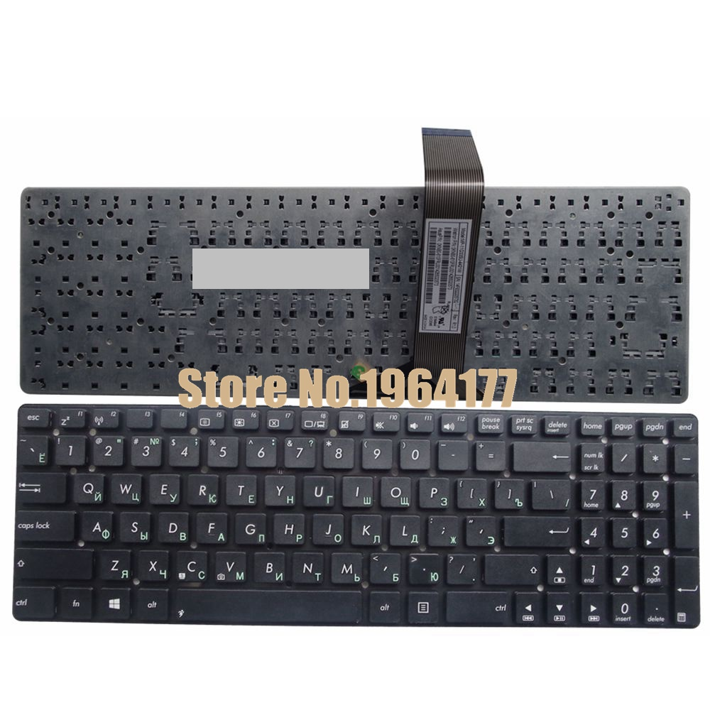 Russian Laptop Keyboard for ASUS K55V K55 K55A K55VD K55VJ K55VM K55VS A55 A55V A55XI A55DE A55DR R500v R700V RU k55a motherboard rev 3 0 3 1 hm76 for asus a55v k55v k55vd laptop motherboard k55a mainboard k55a motherboard test 100% ok