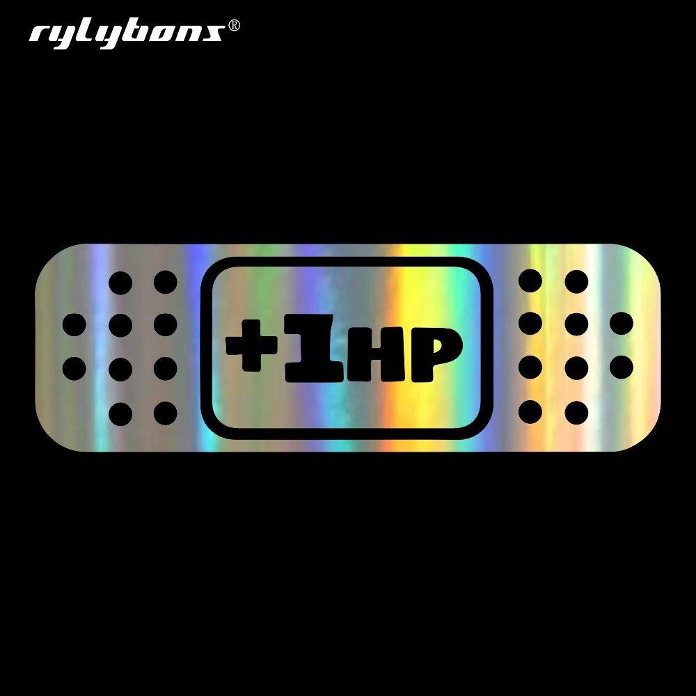 Aliexpress Com   Buy Rylybons Car Sticker  1hp Band Aid
