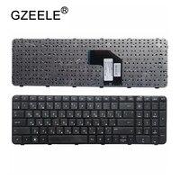 Gzeele novo ru teclado russo para hp g6-2003sr g6-2004er g6-2004sr g6-2006er teclado russo quadro preto