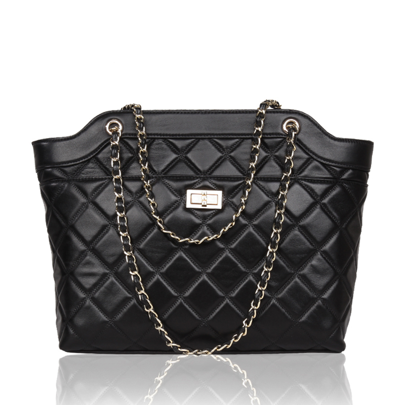 2016Genuine Leather luxury women shoulder bag Famous Brand women handbags 2016 New High quality Chain bolsa feminina Tote women bag qiwang 2016 new genuine leather bag serpentine fashion chain luxury women bag quality women handbags shoulder bag