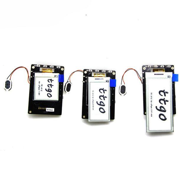 TTGO T5 v1 2 wifi+bluetooth Module base ESP 32 esp32 1 54