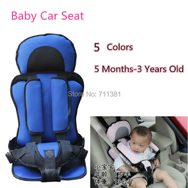 Baby Car Seat Suit 5 Months 3 Years Old Material Sandwich Fabric Comfortable Protect Kids