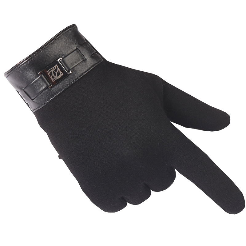 Winter gloves men warm mittens men's fashion cashmere touchable screen gloves winter for smart cell phone tablet pad glove