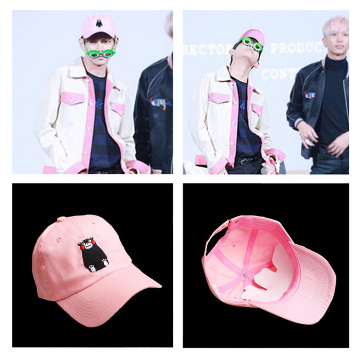 Hot sale VIVINEAR Bts cap hat cap Harajuku style Ulzzang Jung kook Jimin Suga Jhope Rap monster pop k-pop kpop children Bangtan 2017 hot sale kpop fashion harajuku bts infinite fisland boyfriend snsd bap tvxq shinee umbrella