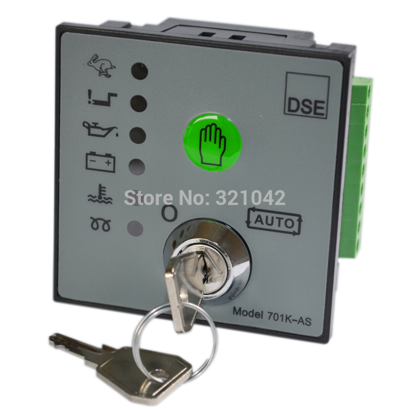 deep sea electronic 701 Generator Controller for Diesel Generator Set deep see controller high quality free shipping deep sea generator set controller module p5110 generator control panel replace dse5110