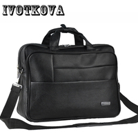 IVOTKOVA Men's Satchel Handbag Shoulder Bags For Men Cross Body Bag 14' Laptop Bag Briefcase For Men Business Portfolio