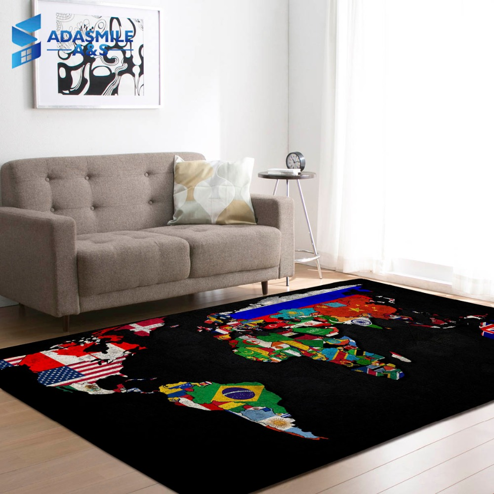 Nordic Style Carpets Soft Flannel National Flag Area Rugs Kids Room Crawling Play Mat Rugs Large Rug and Carpet for Living RoomNordic Style Carpets Soft Flannel National Flag Area Rugs Kids Room Crawling Play Mat Rugs Large Rug and Carpet for Living Room