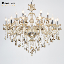 купить Chandeliers Modern Crystal Home Lighting lustres de cristal Decoration Tiffany Art Chandelier Hanging Dining Room Indoor Lamps по цене 14194.04 рублей