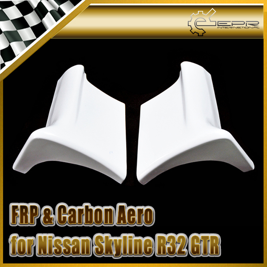 Car-styling For Nissan Skyline R32 GTR Eastbear FRP Fiber Glass Side Skirt Addon new 2pcs side mirror cover for nissan skyline r34 gtt gtr carbon fiber car accessories car styling