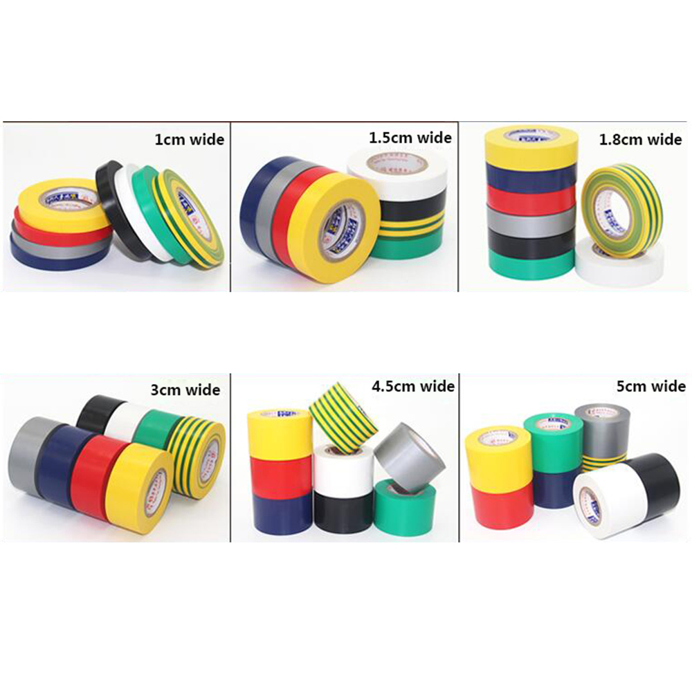 Colorful Electrical Tape China Supplier Colorful: Aliexpress.com : Buy 18M 10mm Color Electrical Tape PVC
