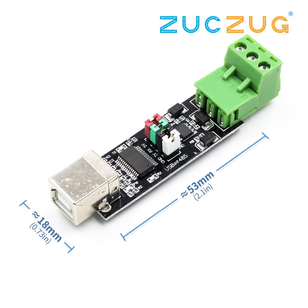 Double Protection USB To 485 Module FT232 Chip USB To TTL/RS485 Double Function USB 2.0 To TTL RS485 Serial Converter Adapter