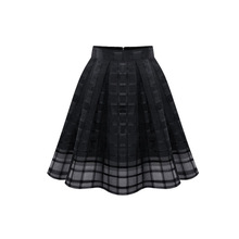 skirt elegant music festival clothing women plaid preppy style plus size clothes goth fashion 2019 new girls