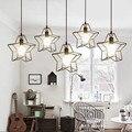 LOFT Vintage lamp pendant light 30cm  Iron The stars Industrial style indoor lighting restaurant bar light fixture