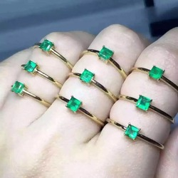 925 sterling silver emerald rings gift for women jewelry emerald wedding ring square emerald open rings.jpg 250x250