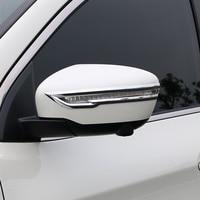 Für Nissan Pathfinder 2019 ABS Chrom Auto rückspiegel dekoration streifen Abdeckung Trim Aufkleber auto zubehör styling 2 stücke