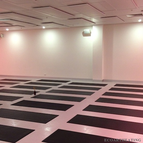 720W Electric Ceiling Radiant Heaters Germany Stock Cost Effective Hot Yoga  Studio Heating Solution
