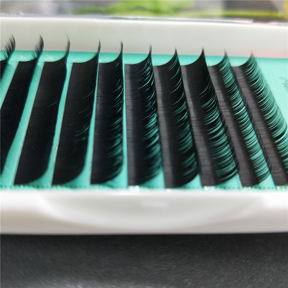 Mixed Size Eyelashes Factory Wholesale Mink Individual Lashes with Korean Eyelash Extension by free shipping