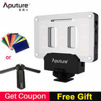 Aputure AL-M9 Luz de vídeo LED de bolsillo en la Cámara Luz de estudio recargable luz de la foto CRI/TLCI 95 para Canon boda cine