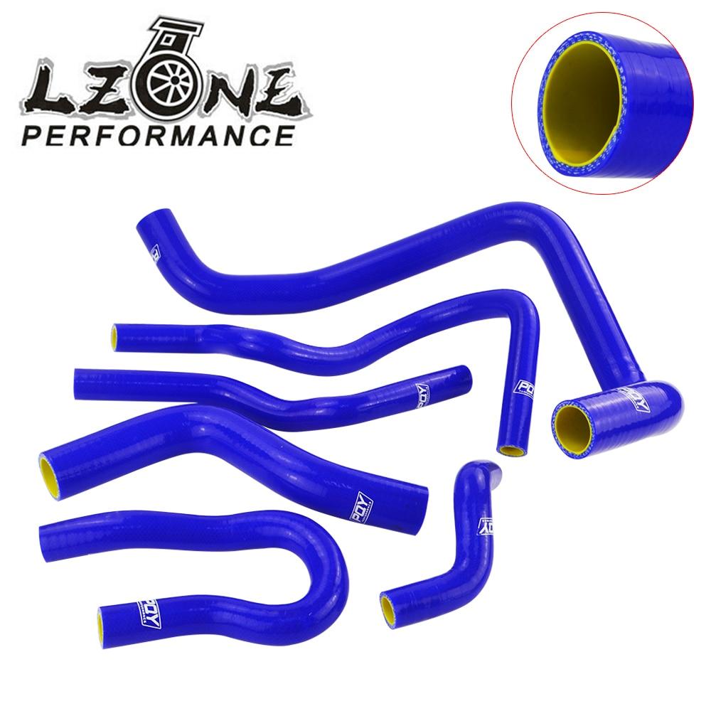 LZONE - Silicone Radiator Hose Kit for CIVIC SOHC D15 D16 EG EK 92-00 6pcs With PQY logo JR-LX1303C-QY контейнер для хранения idea цвет оранжевый прозрачный 10 л
