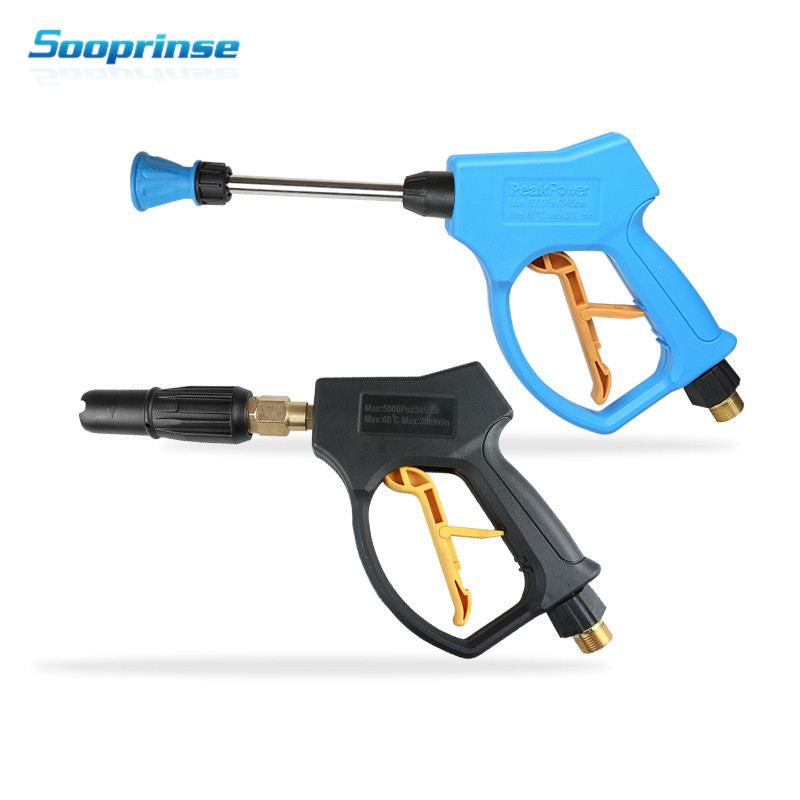 Image 2 - High Pressure Washer Gun Snow Foam Lance Cannon with M14 M18 M22Thread ,Clean water gun Diy self service car washing car styling-in Water Gun & Snow Foam Lance from Automobiles & Motorcycles
