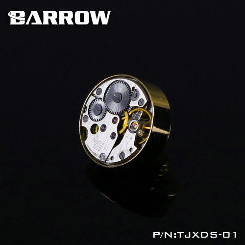 G1 / 4  Time Series Hand tighten Gold lock seal sealing plug water cooling computer fittings History Felling TJXDS-01 Barrow barrow white black silver gold g1 4 special edition hand tighten water stop water cooling fitting tbjdt v1