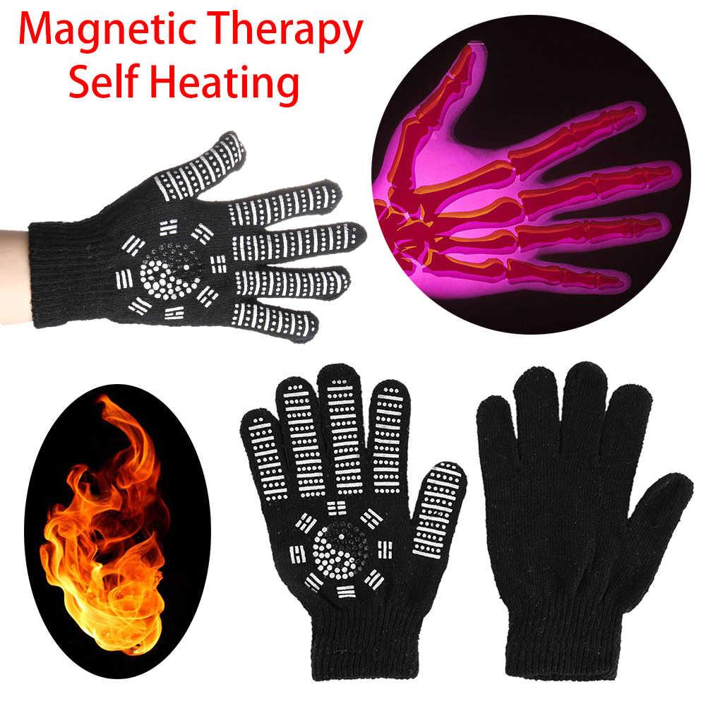 1 пара эффективный артрит суставов подтяжки Прихватки для мангала самонагревающийся турмалиновый ревматоидный боли Магнитная терапия рук Уход