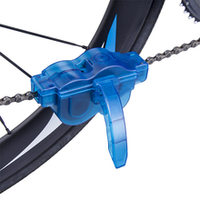 Portable bicycle chain washer mountain bike road washing tool riding cleaning kit repair tools accessories