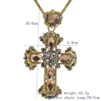 Cross Bible Scripture Necklace3