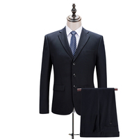 (Куртки + Брюки для девочек) Темно синие одноцветное Цвет Рабочий костюм Для Мужчин's Костюмы Бизнес Костюмы праздничная одежда Высококачест