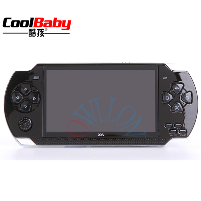handheld Video Game Console 4.3 inch screen mp4 player MP5 game player real 1500Game 8GB support for psp game,camera,video,ebook