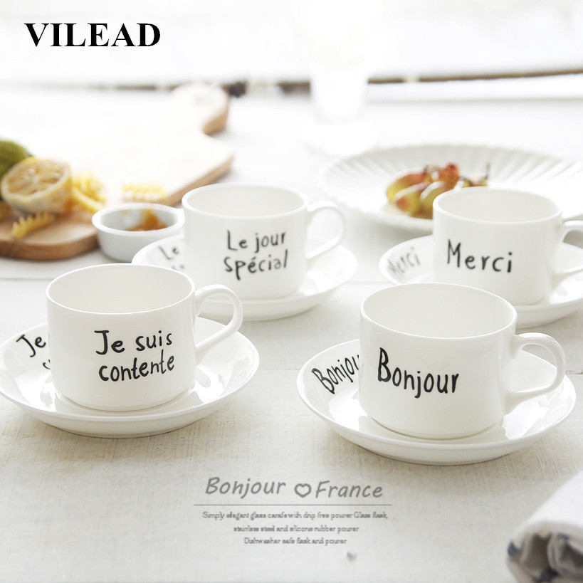 Tea Brief 45 Insulated In Milk Us11 Mug Tray Ceramic Morning French Afternoon With vilead Coffee Porcelain Bonjour Handgrip Cup 35Off Merci TJ31lFKc