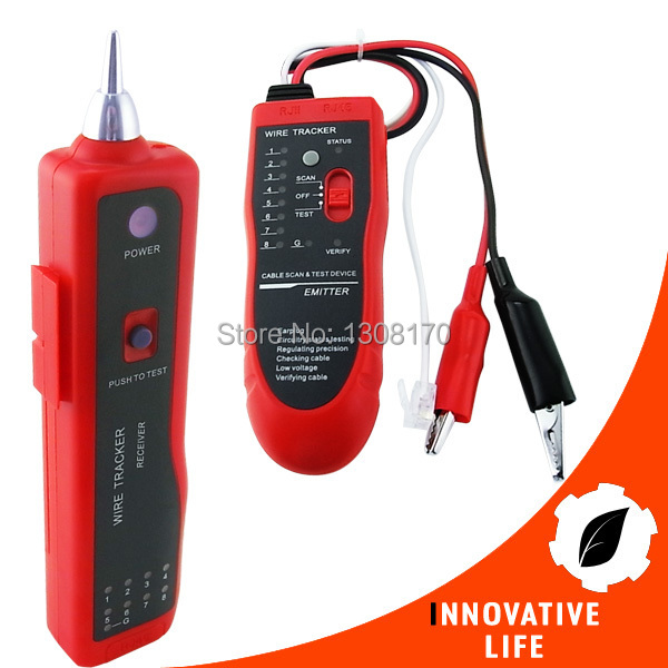 Network LAN RJ45 BNC Cable Tester Electric Wire Finder Telephone Tracer Tracker usb 2 0 to rj45 lan ethernet network adapter