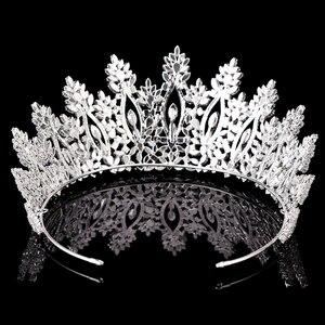 Image 4 - Tiaras และ Crowns HADIYANA คลาสสิกใหม่แฟชั่นการออกแบบเจ้าสาวอุปกรณ์เสริมผมจัดงานแต่งงานผู้หญิง BC5070 Corona Princesa
