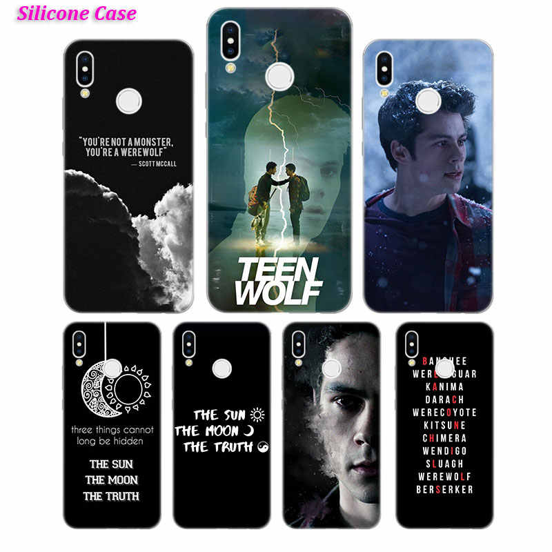 Silicone Case Teen Wolf story for Huawei P Smart 2019 Plus P30 P20 P10 P9  P8 Lite Mate 20 10 Pro Lite Nova 3i Cover