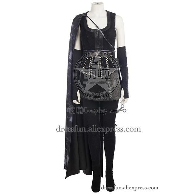 Érase una vez reina malvada Regina molinos Cosplay traje negro trajes  uniforme completo hermosa ropa manera 8b49759bb41