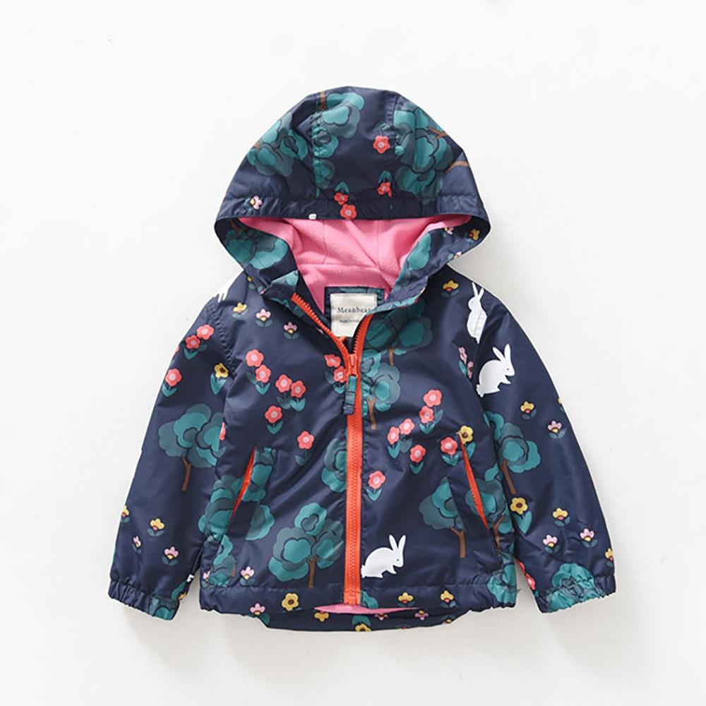 M68 Spring Autumn Fashion Big Tree Coat Thick Polar Fleece Lining Jacket Child Hoodies Winter Girl Keep Warm Coat Tops Outwear tree girl