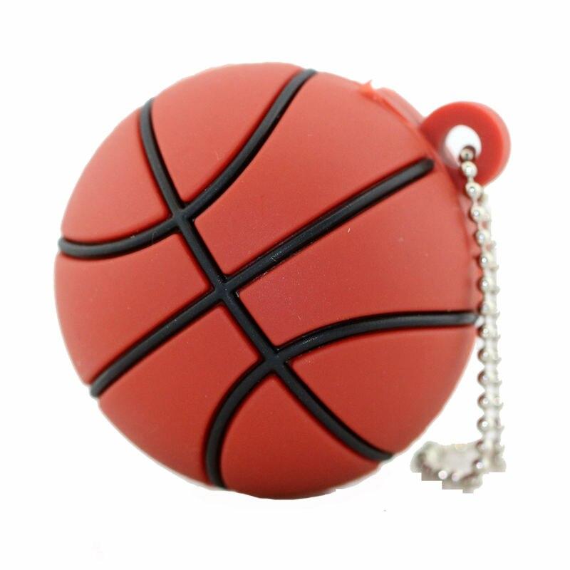 Basket Sport USB Flash Drive 4GB 8GB 16GB 32GB Memory Stick Boll - Extern lagring - Foto 2