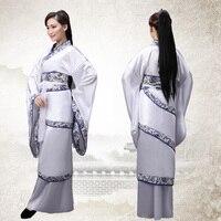 Women S Hanfu Fairy Princess Ancient China Clothes Costume Classic Halloween White Dress Women TV Play