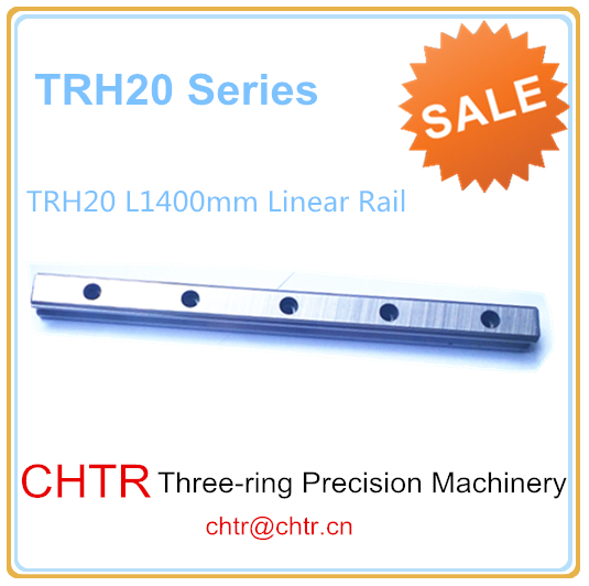 High Precision Low  Manufacturer Price 1pc TRH20 Length 1400mm Linear Guide Rail Linear Guideway for CNC Machiner high rigidity roller type wheel linear rail smooth motion belt drive guide guideway manufacturer